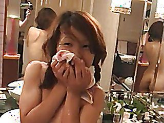 My Asian homemade porn shows me enjoying a threesome