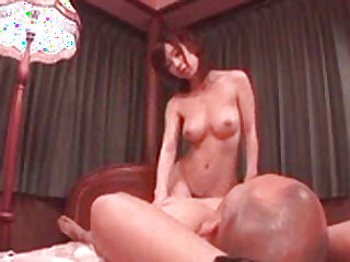Redhead asian  with amazing cans is having deep penetration