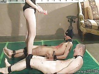 Japanese Femdom Hot Waxes BDSM Cock