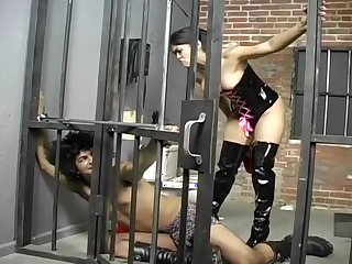 Dominatrix Mika Tan Punishes A Criminal