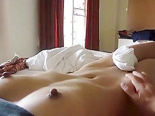 gf masturbating big nipples tiny pussy